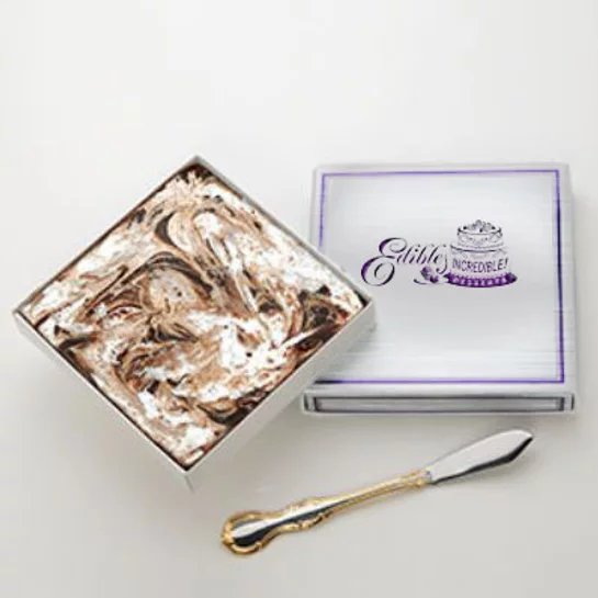 Chocolate Marshmallow Swirl Fudge  - 1 lb