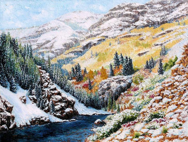 Colorado October Snow