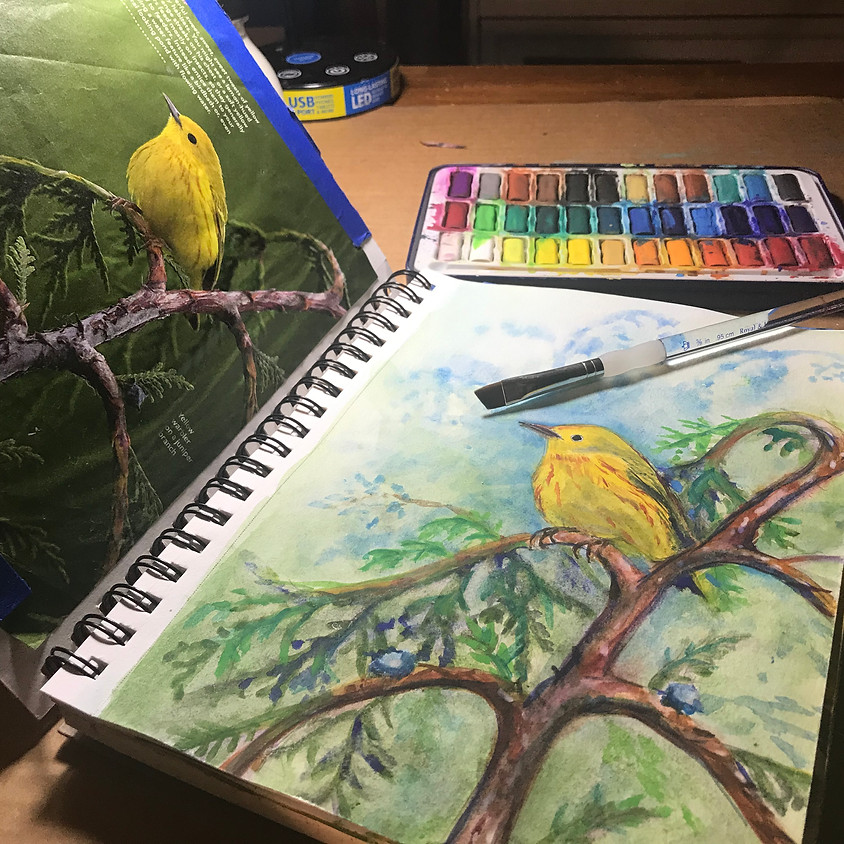 Journal Your Art (Four 3-HOUR CLASSES)