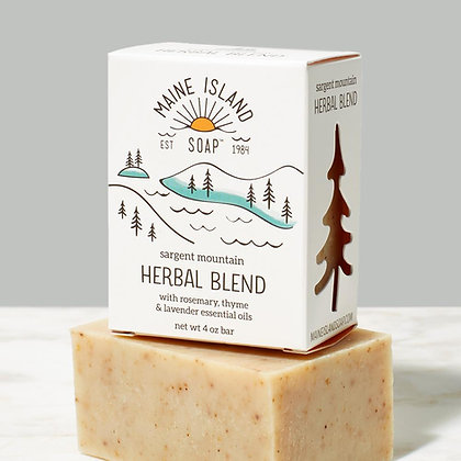 Sargent Mountain Herbal Blend Soap by Artisan Maine Island Soap