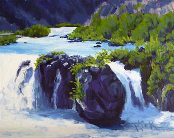 The Rush of Steelhead Falls