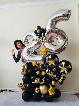 Hollywood Balloon Sculpture