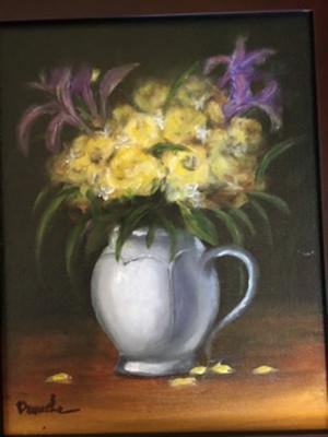 Denise Denecke_Flowers_oil on canvas boa