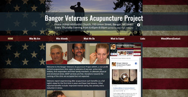 The Bangor Veterans Acupuncture Project