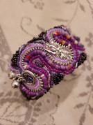 Beaded Cuffed Bracelet