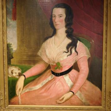 "1790s portrait, ""Payne Limner"" of Anne Spotswood Payne."