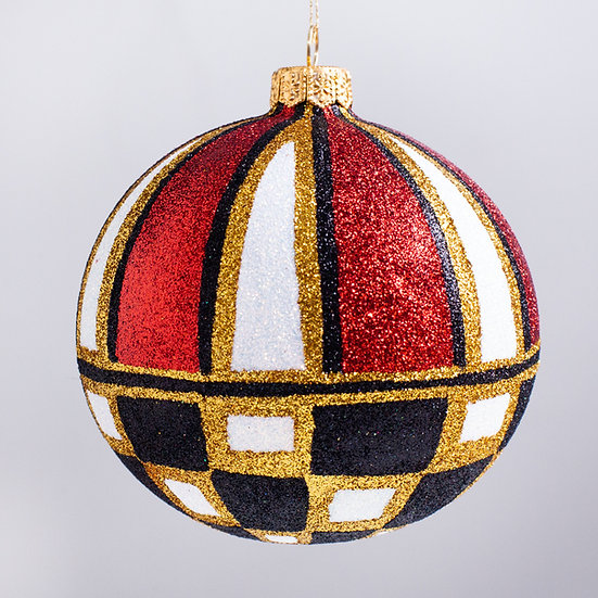 "#2149 - Thomas Glenn ""Topsy"" Ball Christmas Ornament"