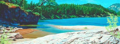 Blackfoot River - Goose Rock Beach