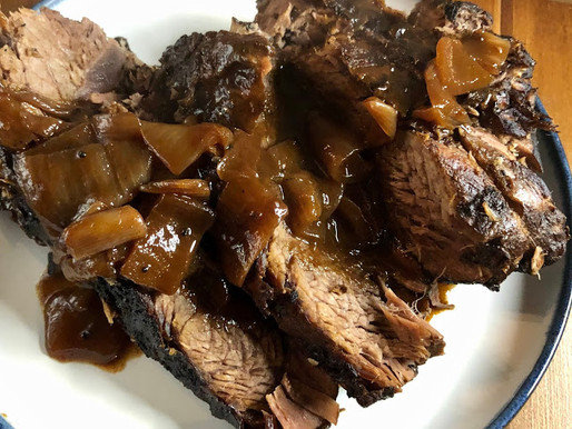Wine-Braised Beef Roast