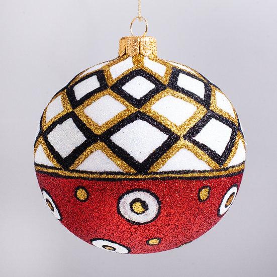 "#2147 - Thomas Glenn ""Tempo"" Ball Christmas Ornament"