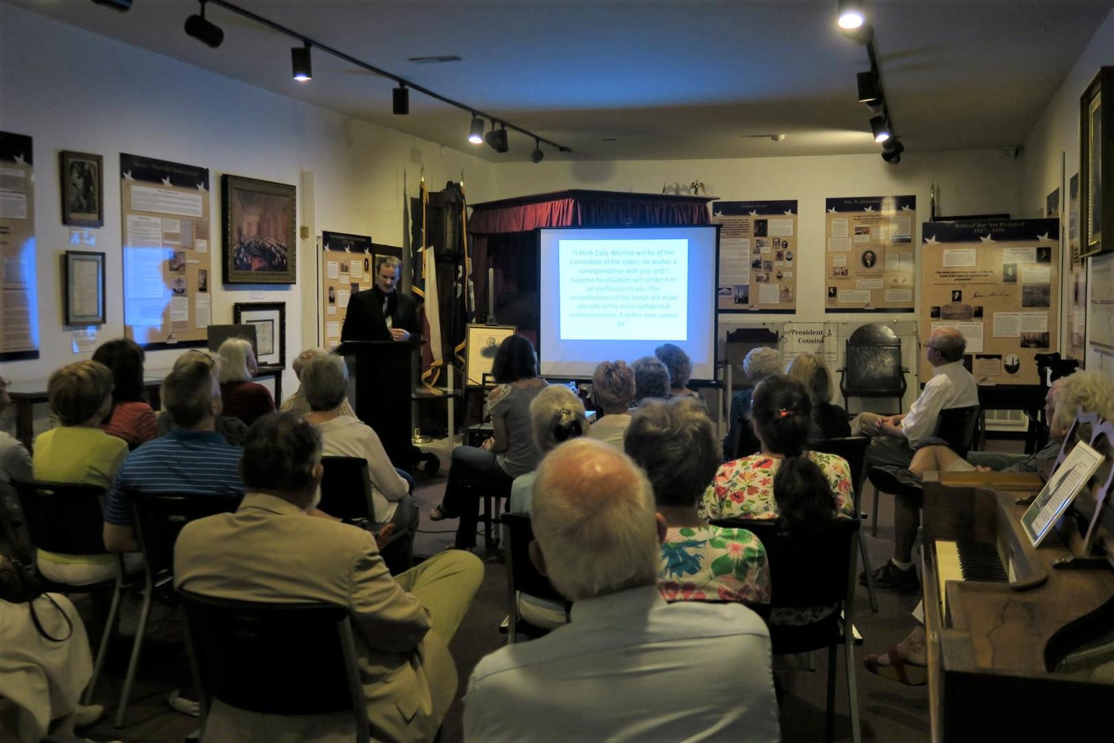 Monroe Museum Presentation