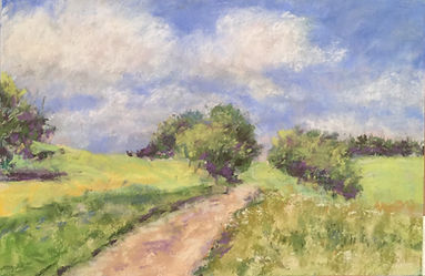landscape pastel for basic pastel worksh