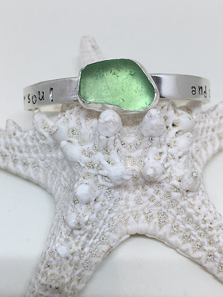Let Your Soul and Spirit Fly Cuff
