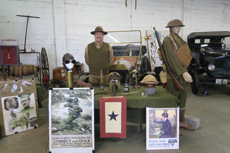 Military Timeline reenactors at JMM 2020