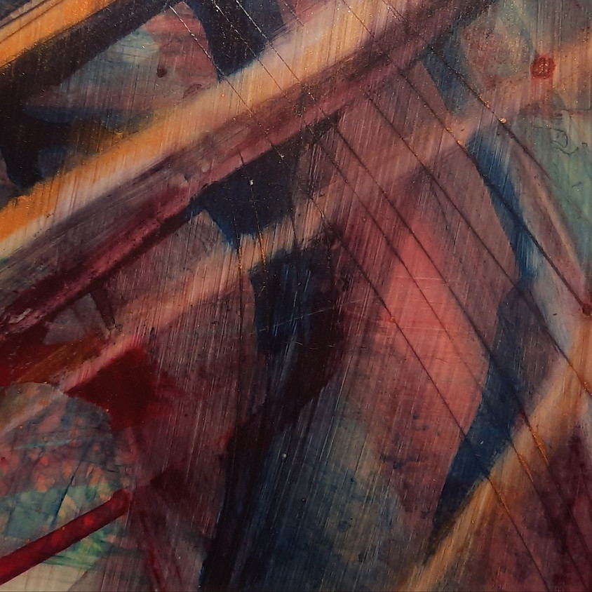 Introduction to Abstract Art (water media)