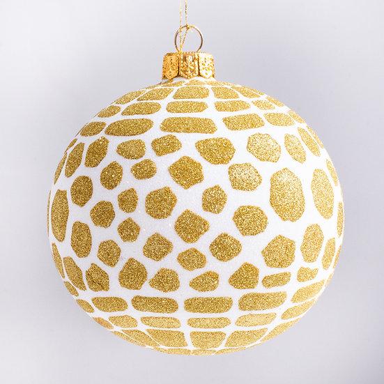 "#2110 - Thomas Glenn ""Crocodile Rock"" Ball Christmas Ornament"