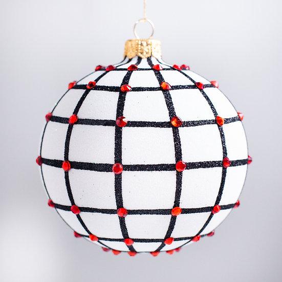 "#2148 - Thomas Glenn ""Hollywood"" Ball Christmas Ornament"