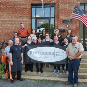 Provisions Market Table Ribbon Cutting