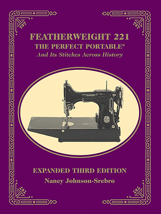 Featherweight 221 The Perfect Portable And Its Stitches Across History