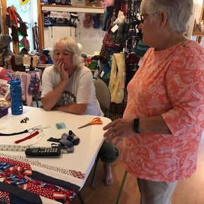 Quilt making for Veterans in Hospice!!