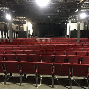 Groove Music Hall Seating