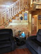 living room steps