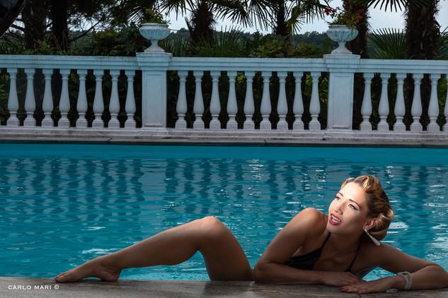 Giulia Playmate in swimming pool 2, 2018