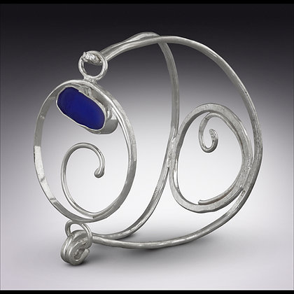 Catch the Wave Seaglass Bracelet
