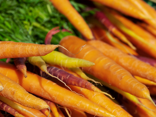 Ludo Lefebvre's (abbreviated) Roasted Carrot Salad