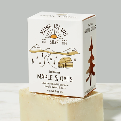 Jackman Maple & Oats Soap by Artisan Maine Island Soap