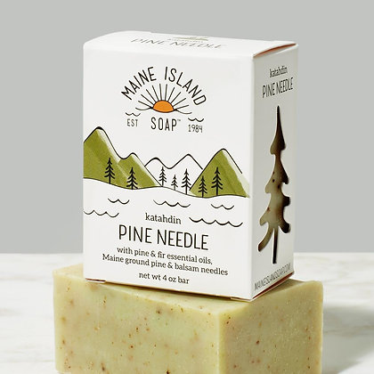 Katahdin Pine Needle Soap by Artisan Maine Island Soap
