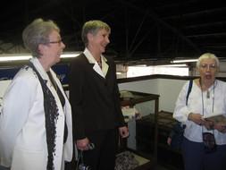 Joan Bergstrom, Carla Bangs and Margaret Johnston