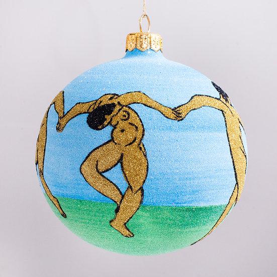 "#2130 - Thomas Glenn ""La Danse"" Ball Christmas Ornament"