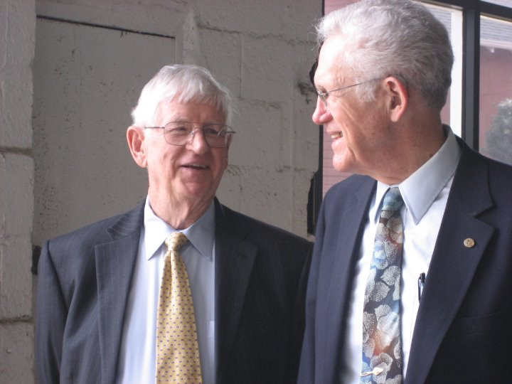 JMM Board Member Jim Gerock and Rev. Herndon