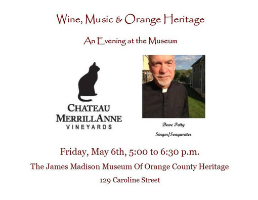 Wine and History May 3 2016