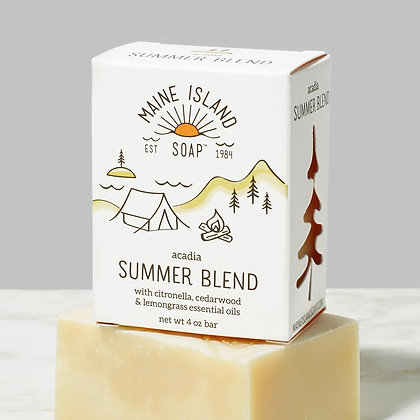 Acadia Summer Blend Soap by Artisan Maine Island Soap