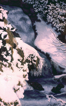 A Frozen Moment - Watercolor