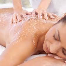 skin boosting body scrub