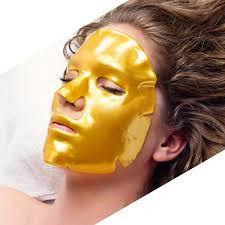 Gold dermaplaning treatment