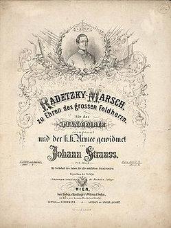 Radetzky March - Johann Strauss