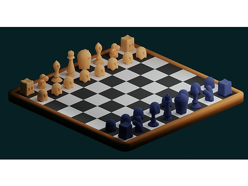 Ghost chess set