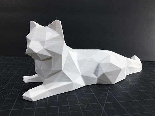 Chat low poly