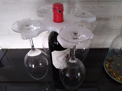 Support verre à vin