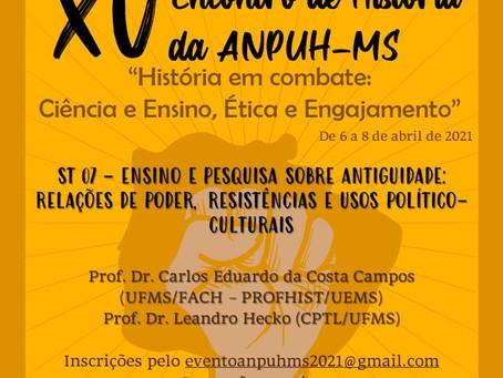 XV Encontro de História da ANPUH-MS