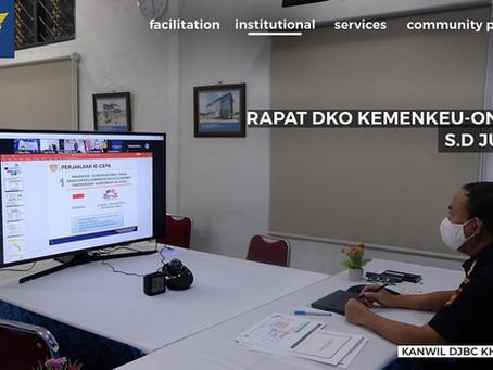 RAPAT DKO KEMENKEU-ONE DJBC S.D JULI 2020