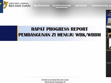 RAPAT PROGRESS REPORT PEMBANGUNAN ZI MENUJU WBK/WBBM
