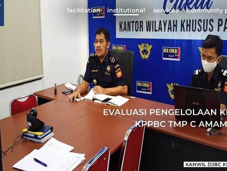 Evaluasi Pengelolaan Kinerja KPPBC TMP C Amamapare
