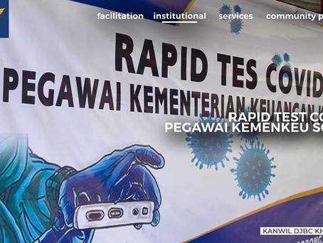 Rapid Test Covid-19 Pegawai Kemenkeu Kota Sorong