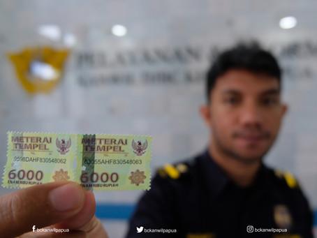 Bea meterai Rp 10.000 telah berlaku sejak 1 Januari 2021. Bagaimana nasib Rp 6.000 dan Rp 3.000 ?