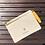 Thumbnail: Sarı Fermuarlı Clutch Çanta